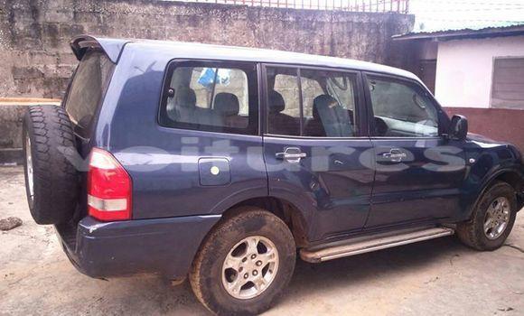 Acheter Voiture Mitsubishi Pajero Bleu à Libreville en Estuaire