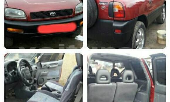 Acheter Voiture Toyota RAV4 Rouge à Libreville en Estuaire