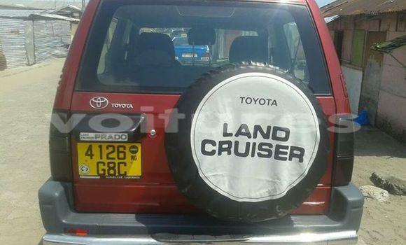 Acheter Voiture Toyota Land Cruiser Prado Rouge à Libreville en Estuaire